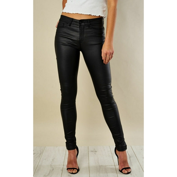 AEO Women's Coated Stretch Jeggings